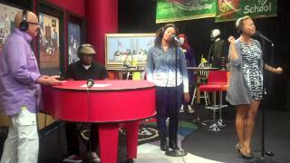 Chrisette Michele performs Epiphany & A Couple of Forevers on the Tom Joyner Morning Show