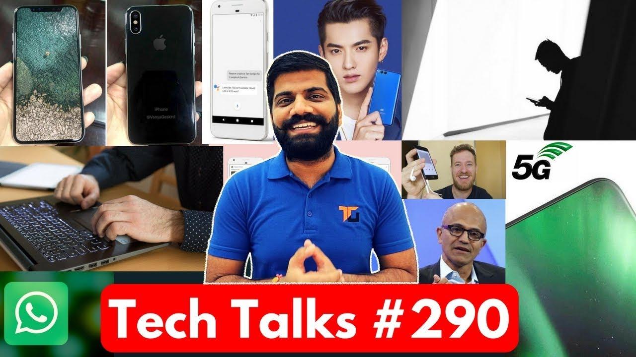 Tech Talks #290 - Google & HTC, 5G Testing, Water Battery, Google Feed, iPhone Headphone Jack