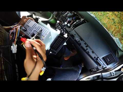 10.2 Android stereo installation Mitsubishi Lancer Evolution X - Dash trim removal