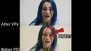 After and Before VFx   Billie Eilish   When the Party's over