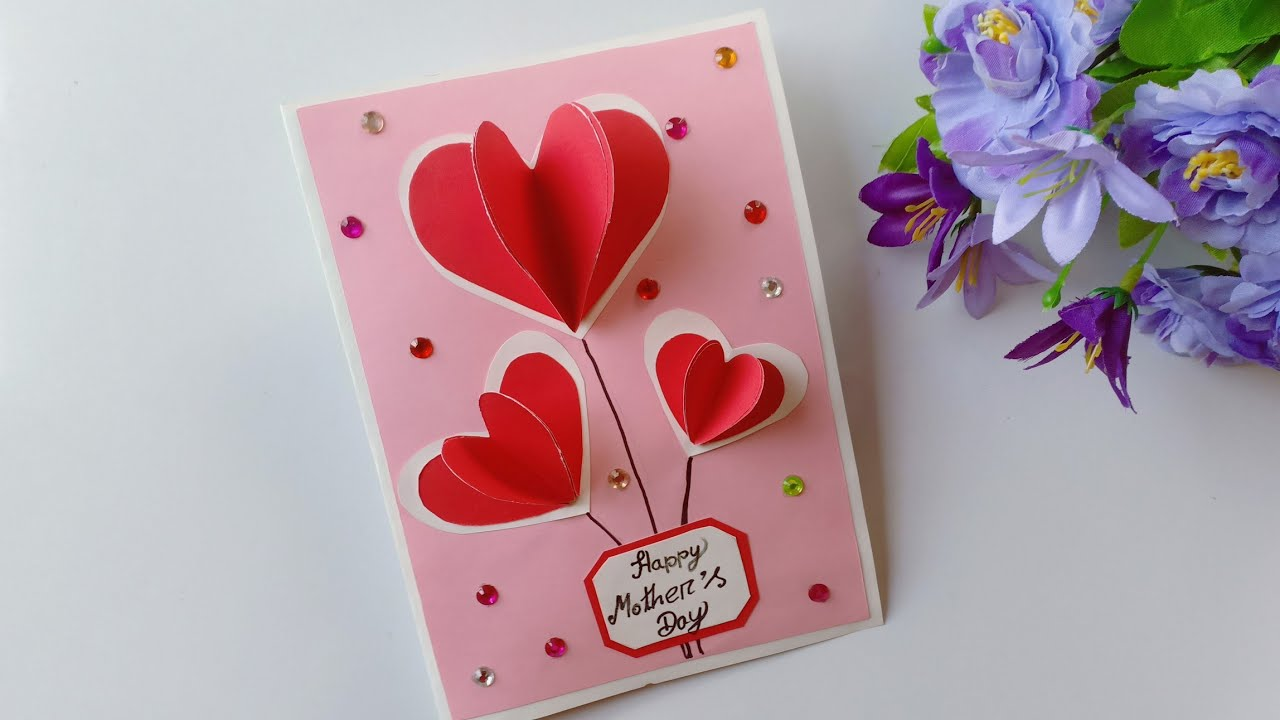 Happy Mother/'s Day Card Handmade