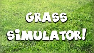 BEST GAME OF 2014! - Grass Simulator Funny Moments - Dubstep Dancing Cows and Amazing Grass Growing!