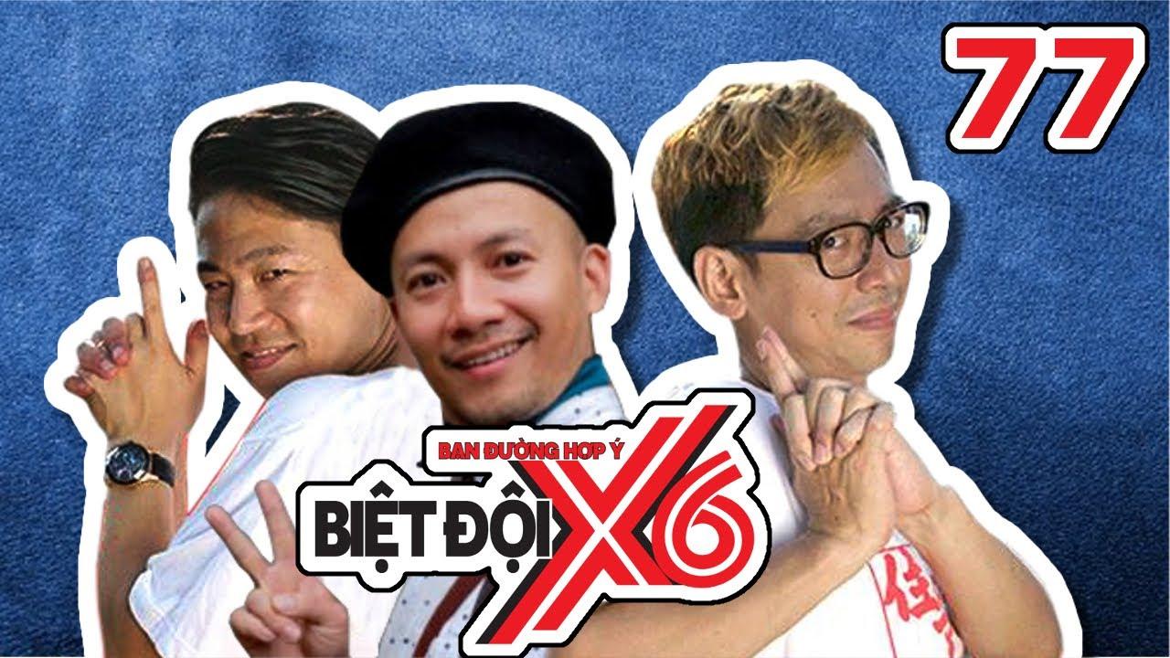 BIỆT ĐỘI X6 | Tập 77 | Đinh Tiến Đạt - Nghệ sĩ Nhật Bản xuất hiện - game truyền thống Nhật | 070717