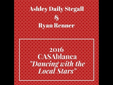 """CASAblanca """"Dancing with the Local Stars"""" 2016: Ashley Daily Stegall & Ryan Renner"""