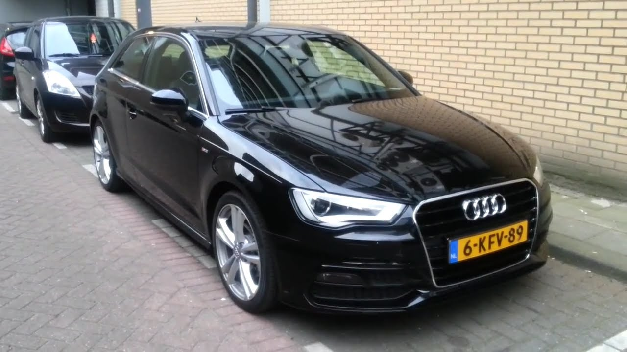 audi a3 2014 s line in depth review exterior youtube. Black Bedroom Furniture Sets. Home Design Ideas