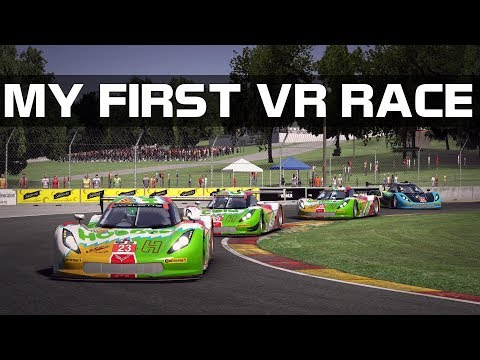 iRacing - My First Race In VR!!!