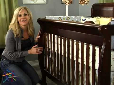 DaVinci Kalani 4 in 1 Convertible Sleigh Crib Collection! - Product Review Video