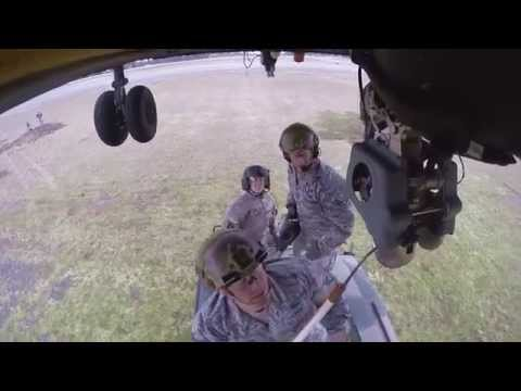 Airmen and Soldiers Rehearse Sling Load Operations