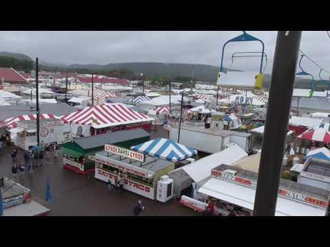 Bloomsburg Fair Sky Ride 2016