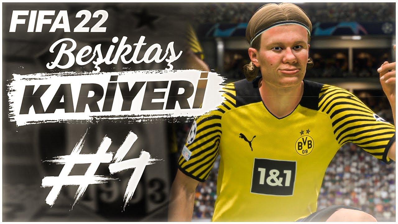 DORTMUND İLE İLK KARŞILAŞMA! - FIFA 22 Beşiktaş Kariyeri #4