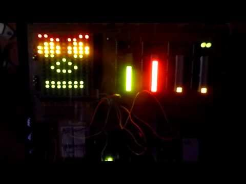 Arduino Jarvis Led Matrix AI : He can.... nothing but it looks realy cool