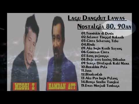 HAMDAN ATT & MEGGI Z - Lagu Dangdut Lawas 80an, 90an - Lagu Hits 90an