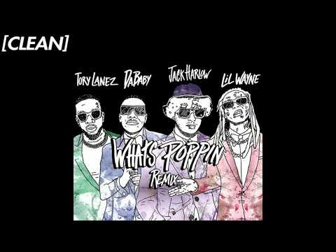 [CLEAN] Jack Harlow – WHATS POPPIN (feat. DaBaby, Tory Lanez & Lil Wayne) – Remix