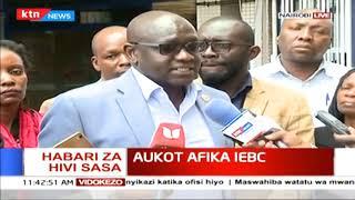 Ekuru Aukot akutana na mwenyekiti wa IEBC Wafula Chebukati