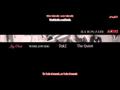 박재범 (Jay Park) - WORLDWIDE (Feat. Dok2 & The Quiett) [SUB ESP/ROM/HAN]