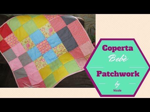 Come Fare Trapunta Patchwork.Come Cucire Una Copertina Per Bebe Trapunta Bebe How To Sew A Baby