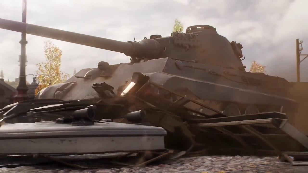 Download World of Tanks update 1.0 – New Intro Login 2018