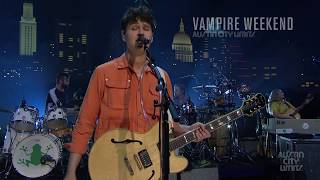 Vampire weekend premieres on austin city limits november 9, 2019 pbs.about the episodeenjoy a career-spanning hour with indie rock titansvampire weekend. ...