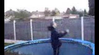 seven backflips on trampoline Thumbnail