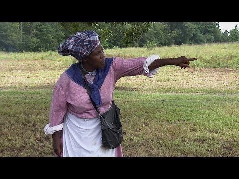 Harriet Tubman Reenactor