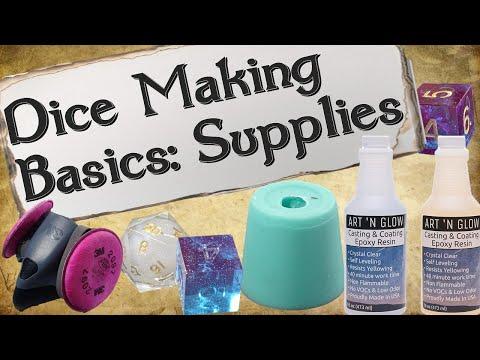 Dice Making Basics: Supplies