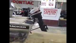 1997 Bass Tracker Boat to be sold at Clinton Auto Auction