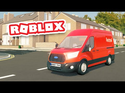 Starting a NEW JOB by Becoming a MAILMAN in ROBLOX |