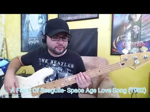 A Flock Of Seagulls- Space Age Love Song (Bass cover)