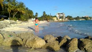 Charlene  & Serena Hinds trip to Barbados 2012 Bare sponsored by Bare Naked Skin. Thumbnail