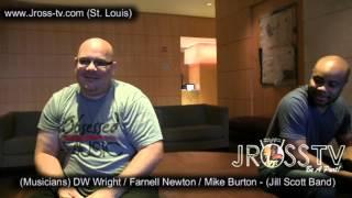 james ross jill scott band dw wright mike burton farnell newton www jross tv com