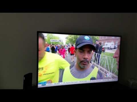 TEAM Chris Lynch post Broad Street Run Interview