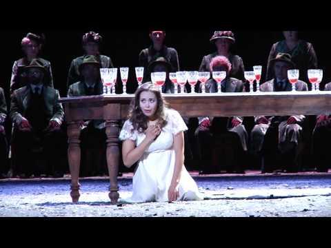 Nadine Sierra - Scena della pazzia (con glassarmonica) - Lucia di Lammermoor