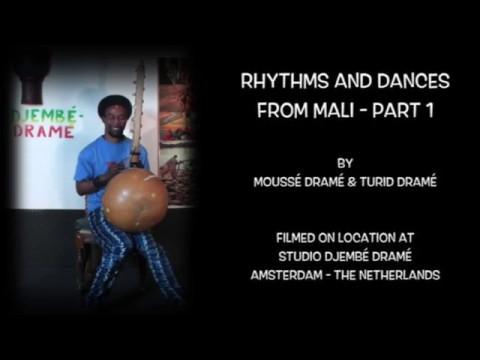 Promo DVD Rhythms & Dances from Mali by Moussé & Turid Dramé