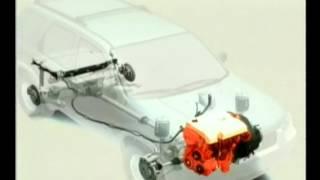 Ford Escape Hybrid Animation