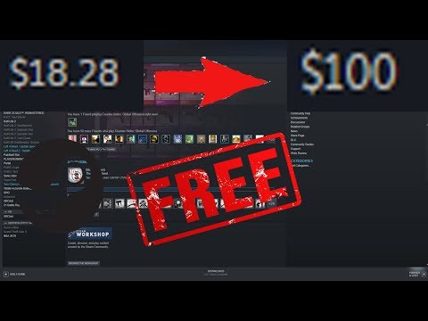 How To Get FREE Money On STEAM!