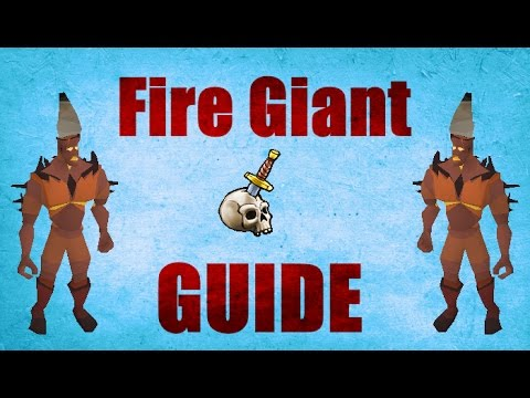Full Fire Giant Slayer Guide 2007 Safe Spot / Location / Loots Old School Runescape [ OSRS ]