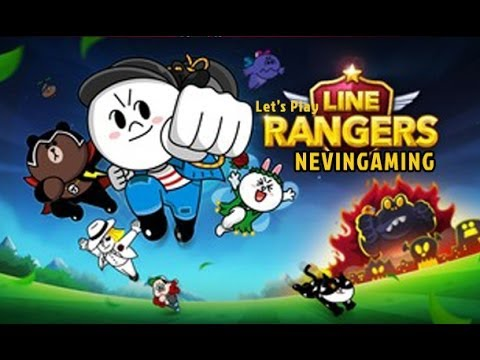 Let's Play Line Rangers Android Line Game ( Nevin Gaming )