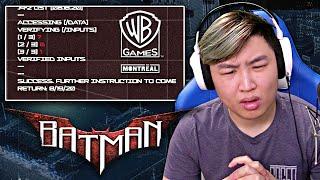 "NEW Batman Game - The ""BIG"" Reveal... [REACTION]"