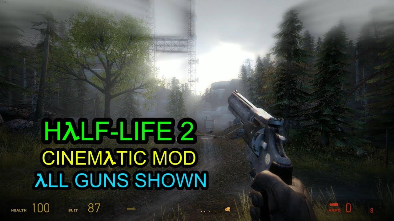 half life 2 cinematic mod weapons