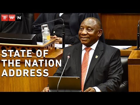 What You Need To Know About President Ramaphosa's Sona 2020