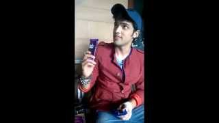 Parth Samthaan receives gifts from fans
