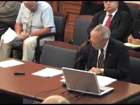 IN Sen. Marijuana Study Committee 2011: Steve Dillon