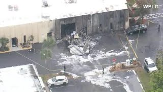 2 dead after plane crashes into autism center in Florida