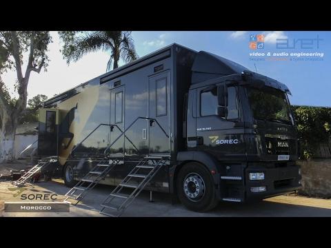 10 HD Cameras Sport Production OB Van - SOREC