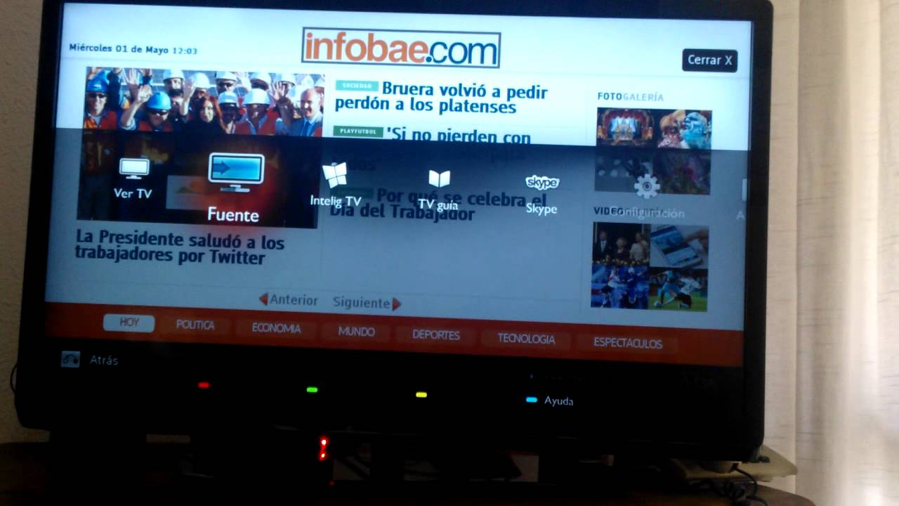 Problema Para Conectar A Red Local Tv Philps Smart 32