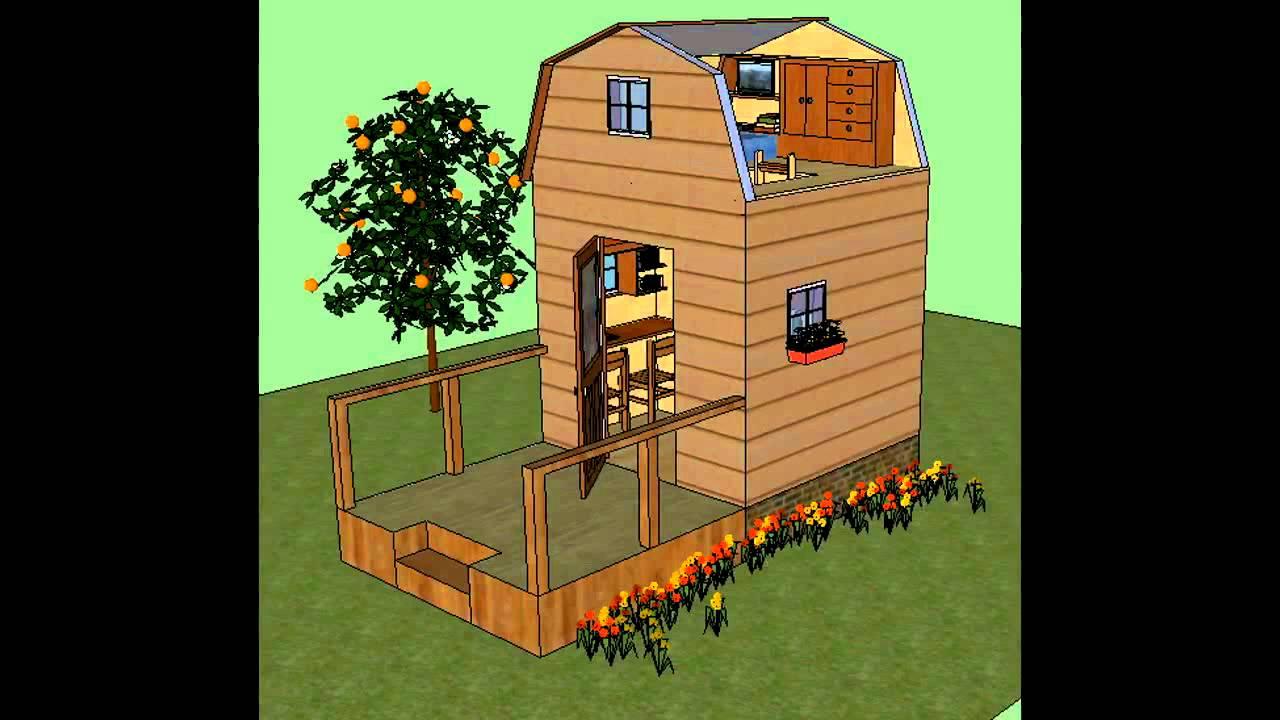 Build Your Own 8x8 Mini Cabin