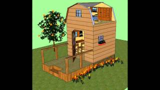 Build Your Own 8x8 Mini Cabin