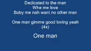 One Man (clean) Lyrics -Gaza Slim & Vybz Kartel