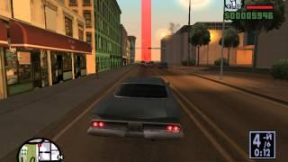GTA San Andreas Прохождение Миссия 9 Низкая подвеска