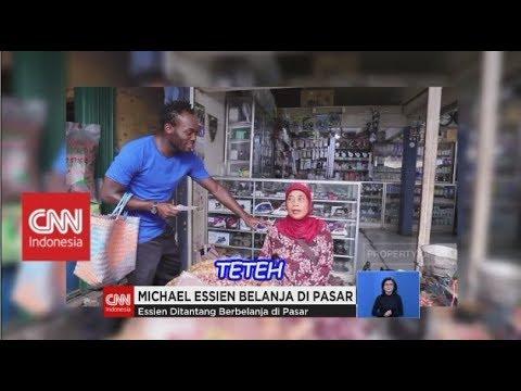 Belanja ke Pasar, Michael Essien Belajar Bahasa Sunda